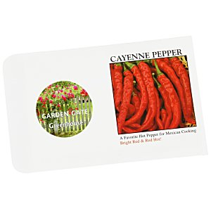 Impression Series Seed Packet - Cayenne Pepper Main Image
