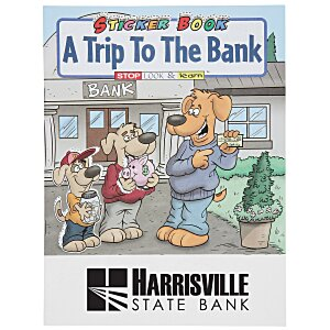 A Trip To The Bank Sticker Book Main Image