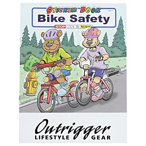 Bike Safety Sticker Book Main Image