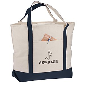"Harbor Cruise Boat Tote - 16"" x 22"" - Screen Main Image"