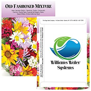 Standard Series Seed Packet - Old Fashioned Mix Main Image