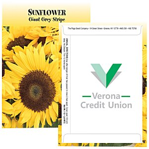 Standard Series Seed Packet - Sunflower Main Image