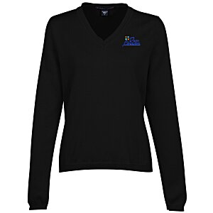 Devon & Jones V-Neck Sweater - Ladies' Main Image