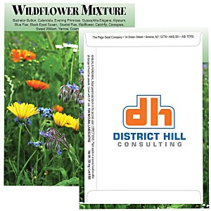 Standard Series Seed Packet - Wildflower Mix Main Image