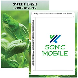 Standard Series Seed Packet - Sweet Basil Main Image
