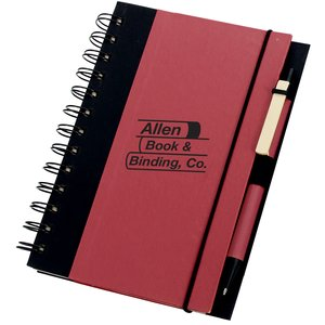 Recycled Color-Cover Spiral Notebook Main Image