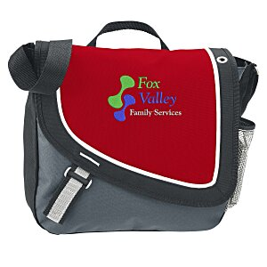 A Step Ahead Messenger Bag - Embroidered Main Image