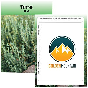 Standard Series Seed Packet - Thyme Main Image