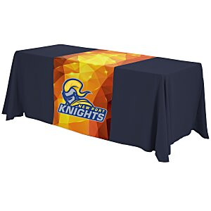 6' Closed-Back Table Throw and Runner Kit - Full Color Main Image