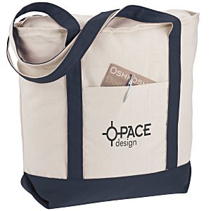 Heavyweight Pocket Boat Tote