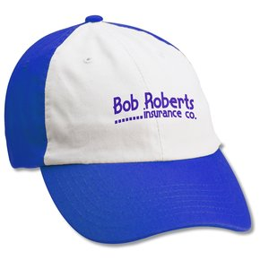 Bio-Washed Cap - White Front - Screen Main Image