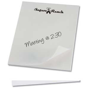 "Notepad - 11"" x 8-1/2"" - 25 sheet"