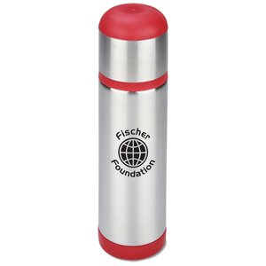Color Accent Stainless Vacuum Bottle - 16 oz.