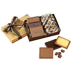 Cookies and Confections Treat Box- Milk Chocolate Cashews Main Image