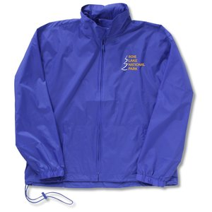 Full-Zip Nylon Anorak Jacket Main Image