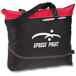 Network Zippered Tote Main Image