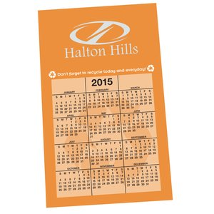 Bic 20 mil Calendar Magnet – Recycle - Colors Main Image