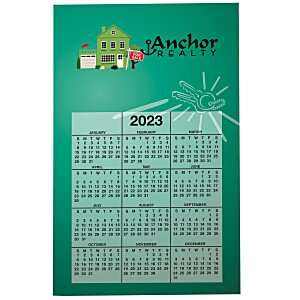 Bic 20 mil Calendar Magnet - Real Estate Main Image