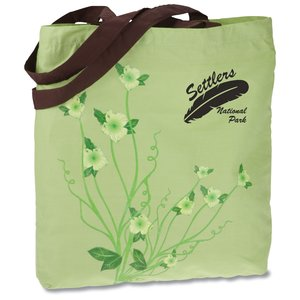 Design Accent Cotton Shopper - Flower Main Image
