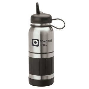Casoria Stainless Bottle - 34 oz. - Closeout Main Image
