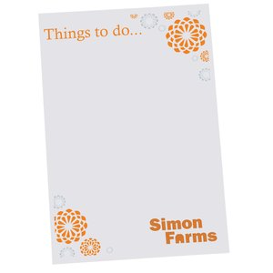 Post-it® Notes - 6x4 - Exclusive - Flowers - 25 Sheet Main Image