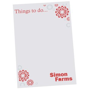 Post-it® Notes - 6x4 - Exclusive - Flowers - 50 Sheet Main Image