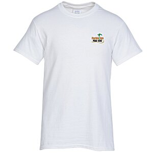 Gildan 6 oz. Ultra Cotton T-Shirt - Men's - Embroidered - White Main Image
