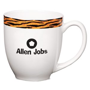 Kansas Mug - Tiger Stripe - 16 oz. Main Image