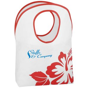 Polypropylene Hobo Tote - Flower - 24 hr Main Image