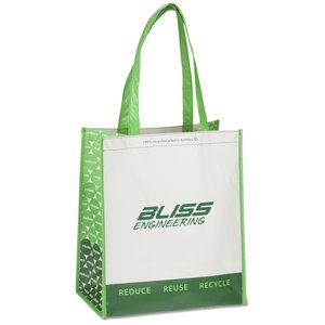 Expressions Grocery Tote - Green Main Image