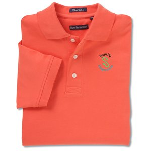 Blue Generation Pima Polo - Men's - Closeout Main Image
