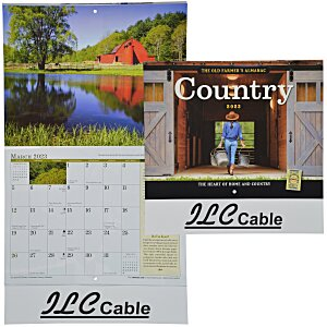 The Old Farmer's Almanac Calendar - Country - Stapled Main Image