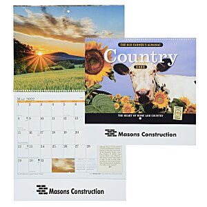 The Old Farmer's Almanac Calendar - Country - Spiral Main Image