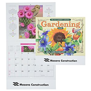 The Old Farmer's Almanac Calendar - Gardening - Stapled Main Image