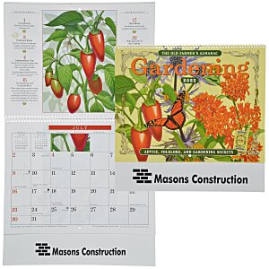 The Old Farmer's Almanac Calendar - Gardening - Spiral Main Image