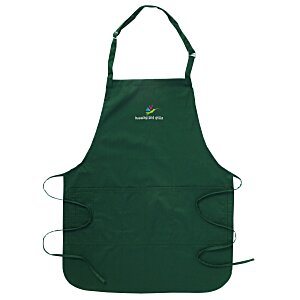 Stain Release Bib Apron with Teflon Finish Main Image