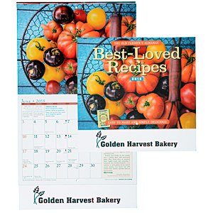 The Old Farmer's Almanac Calendar - Recipe - Stapled Main Image