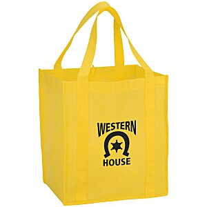 "Value Grocery Tote - 15"" x 13"" Main Image"