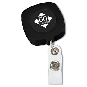 Retractable Tape Measure Badge Holder - Opaque Main Image