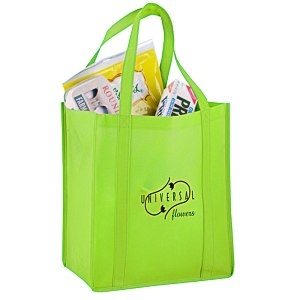 "Reusable Grocery Bag - 13"" x 12"" Main Image"