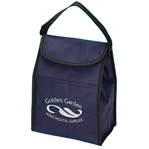 Non-Woven Lunch Sack Cooler - 24 hr Main Image