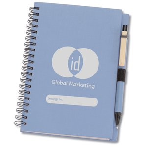 ID Recycled Notebook w/Pen Main Image