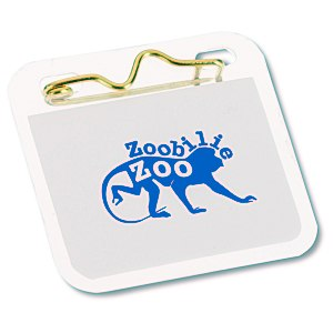 "Laminated ID Badge - 1 3/4"" SQ - Waterproof Main Image"