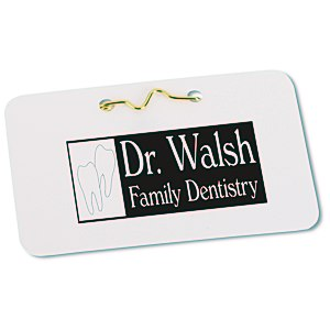 "Laminated ID Badge - 2 1/4"" x 3 1/2"""