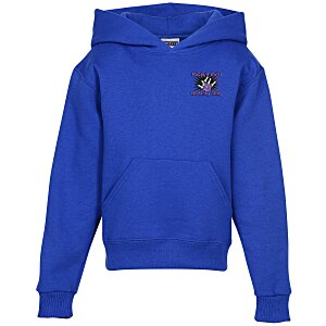 Jerzees Nublend Hooded Sweatshirt - Youth - Embroidered Main Image