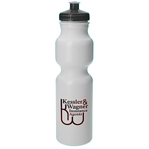 Sport Bottle with Push Pull Cap - 28 oz. - 24 hr Main Image