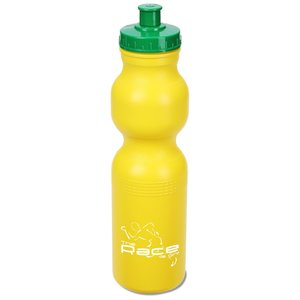 Sport Bottle with Push Pull Cap - 28 oz. - Colors - 24 hr Main Image