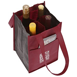 Polypropylene Four Bottle Bag