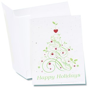 Seeded Holiday Card - Happy Holidays Main Image