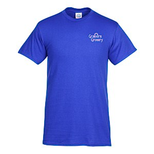 Adult 5.2 oz. Cotton T-Shirt - Screen Main Image